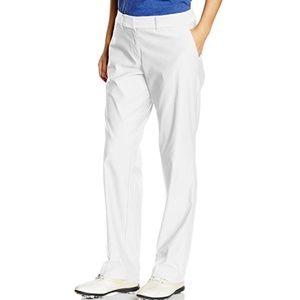 NWT Nike Dri Fit White Golf Pants Sz 12